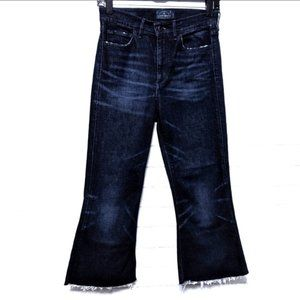 (LUCKY BRAND) Bell Flare Crop High Rise Jeans 27
